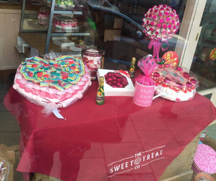 The Sweet Treat - Display
